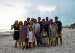 Family at Madeira Beach 2012