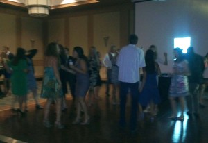 Dancing at the 20-year reunion