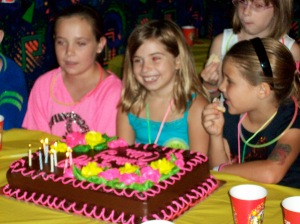 Callie's 8th birthday party